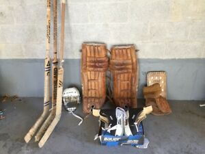 Vintage Goalie Equipment