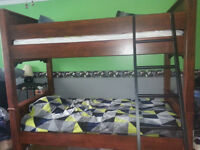 Twin Bunk Beds with Desk OR Twin Loft Bed with Desk