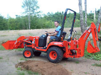 Mini Backhoe For Hire