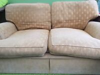 M&S sofa in gold FREE
