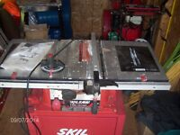 Skill Table Saw  For Sale