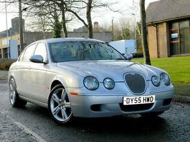 2005 55 Jaguar S-Type 4.2 V8 R 4dr WITH FSH+400BHP+SATNAV+ALPINE AUDIO
