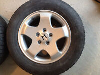 215/65R16 Honda Rims and Nokian winter tires-Just refinished