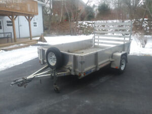 2012 mission aluminum trailer 6 x 10