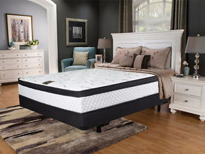 BRAND NEW Double / Queen Euro Top Pocket Coil Mattress FREE SHIP