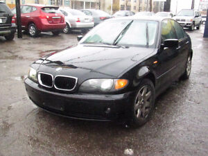 2005 BMW ,4 door ,Auto 3-Series Sedan ,Safety e test