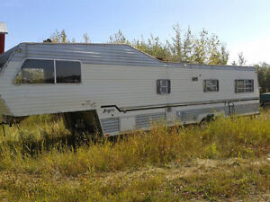 Gutted out Camper