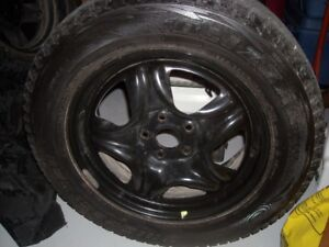 225/65 R17 Bridgestone Blizzak Tires and Rims