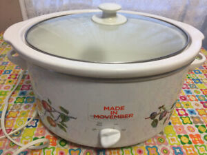 Slow cooker excellent condition Like new extra large size