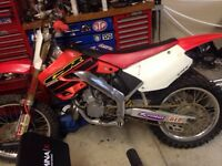 2001 cr 125 mint condition