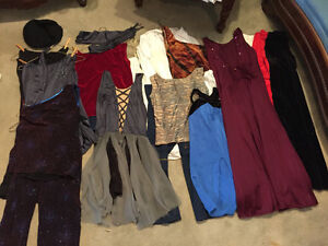 Great lot of girl's dance costumes