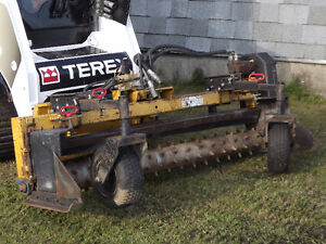 Skid Steer Power Rake