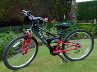Apollo FS24 Full Suspension Mountain Bike
