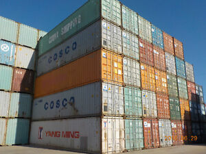SEA CONTAINERS 40' USED