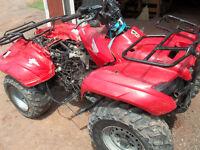 junking atvs and motorcycles seadoos