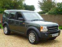 2007 07, Land Rover Discovery 3 2.7TD V6 auto SE ++ 7 SEATS + SAT NAV + LEATHER