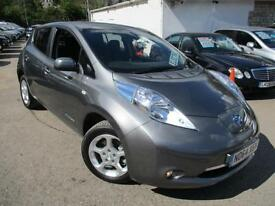 2015 NISSAN LEAF ACENTA ELECTRIC AUTOMATIC HATCHBACK ELECTRICITY