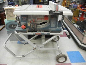 "Bosch 4100 10"" Table Saw w/ Gravity Stand"