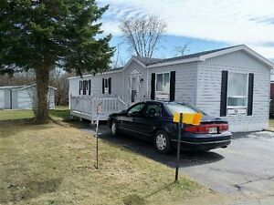 NEW PRICE-Spacious well maintained mini home in Sussex Corner NB