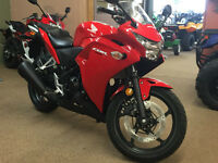 2013 HONDA CBR250R 2nd Year warranty @ No Charge to you