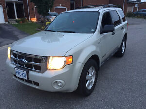 2008 Ford Escape etested safetyed SUV, Crossover