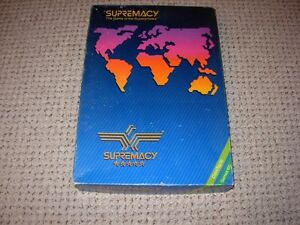 Supremacy Board Game 1986 edition