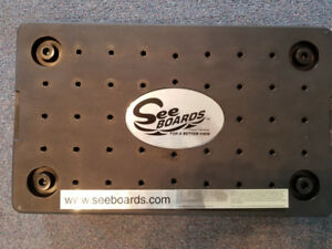 See-Boards;  Height Adjustment  to helping steering your boat