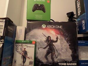 Xbox one 1t 81 jeux 2 manette avec tout les boite comme neuf