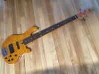 Lakland 55-02 Deluxe Amber/rosewood