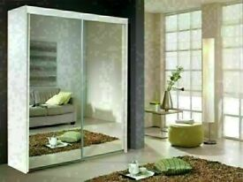 🔵💖🔴10% DISCOUNT 🔵💖🔴BERLIN 2&3 SLIDING DOORS WARDROBE IN 5 DIFF SIZES & IN DIFF COLORS ⛽⛽