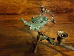 Candle holders. Antique Bronze