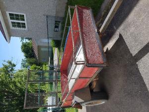 Home made utility trailer