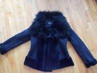 à vendre manteau fausse fourrure neuf jusqu'à -30°
