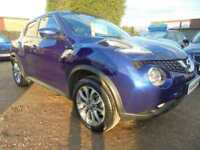 2016 16 NISSAN JUKE 1.5 TEKNA DCI 5DR 110 BHP FINANCE WITH NO DEPOSIT AND NOTHIN
