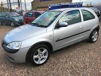 Vauxhall/Opel Corsa 1.2i 16v 2003MY SXi ALLOYS FULL MOT CHEAP PX