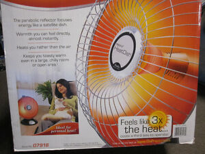Presto® HeatDish® Parabolic Heater - like New , Open Box Kitchener / Waterloo Kitchener Area image 8