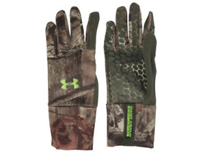 NEW Under Armour  Scent Control Gloves Infinity Camo Size Small