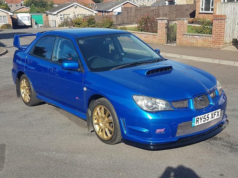 2006 subaru impreza 2 5 wrx sti type uk full subaru service history in norwich norfolk gumtree. Black Bedroom Furniture Sets. Home Design Ideas