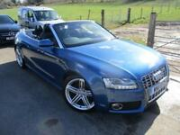 2011 AUDI A5 TFSI S LINE AUTOMATIC CONVERTIBLE 4X4 PETROL