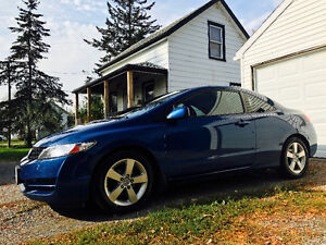 2010 Honda Civic LX SR Sunroof Coupe, 2DR, Well Maintained