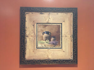 Two Beautiful Paintings with Detailed Frames