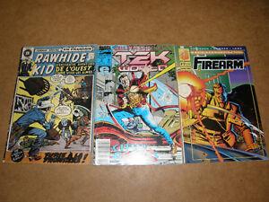 3 Revue Comique Raw hide Kid Tek World Fire arm - 3/8$