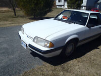 1988  Ford Mustang (Fox)
