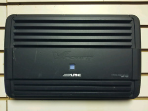 Alpine MRP f600 4 channel 600 RMS