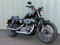 HARLEY DAVIDSON XL 1200 N NIGHTSTER CUSTOM CRUISER MOTORCYCLE