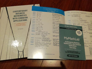 contemporary business mathematics 10th ed(hard cover+access code