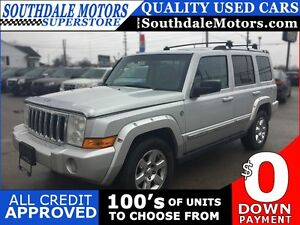 2006 JEEP COMMANDER LIMITED * 4WD * LEATHER * NAV * PANORAMIC SU
