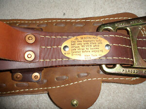 From Estate - New Klein 5278 - 26D  LIneman's Body Belt + free