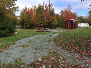 Seasonal camping - wide open wilderness family campground
