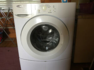 high efficency front load washer